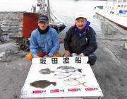 黒島の筏 チヌ・ヒラメ・シマアジの釣果