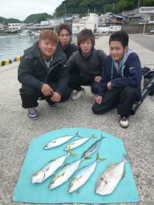 神谷一文字 カゴ釣りでハマチ・サバ・グレなど
