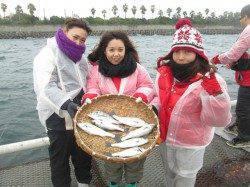 尼崎市立魚つり公園 シラサのウキ釣りでチヌ・セイゴの釣果