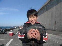 【23日】北港魚つり公園でヒラメ&グレ