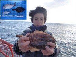 平磯海づり公園 投げ釣りでカレイとマダイの釣果