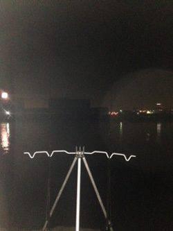 汐見埠頭 ちょい投げでアナゴ2匹ゲット エサはサンマ