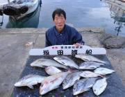 黒島の筏 良型チヌ・コロダイ・マダイ