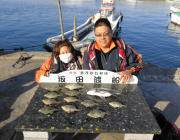黒島の筏でチヌ・カワハギ 鷹島のカンドリではグレ20匹