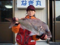 カルモ島 フカセ釣りで72cmの正月マダイ