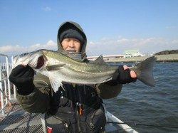 尼崎市立魚つり公園 開園後すぐと11時頃にハネの時合ありました