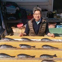 萩尾の磯 大イナヤと沖コーデでのグレ釣果