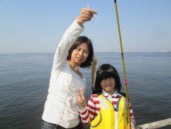 尼崎市魚つり公園 ハネ・セイゴ中心の釣果