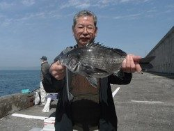 北港釣り公園 チヌの釣果出てます