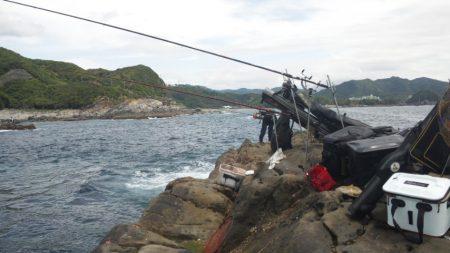 渡船にて、フカセ釣り