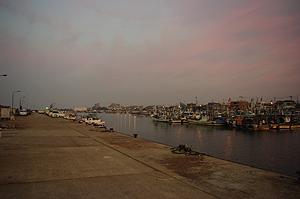林崎漁港で穴釣り 大漁でした。