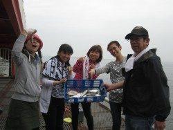 尼崎市立魚つり公園 チヌ好反応