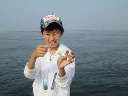 尼崎市立魚つり公園 サビキで大漁