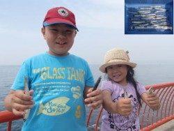 平磯海づり公園でのウキ釣り イワシ・サバ