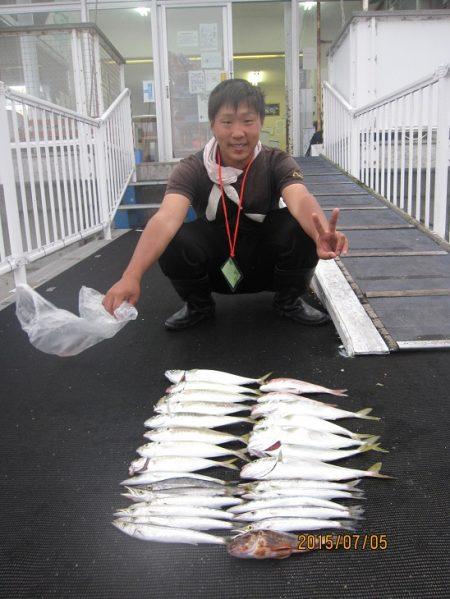ピアーランドで色んな釣り