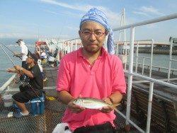 尼崎市立魚つり公園 サビキ好釣果