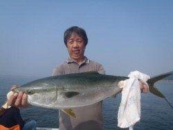 神戸市立須磨海づり公園 メジロ 78cm!