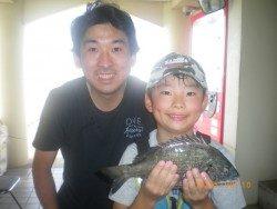 姫路市立遊魚センター チヌが釣れたよ〜