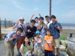 大阪南港海釣り公園 小アジ1500匹!
