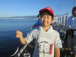 尼崎市立魚つり公園 サビキで数釣り
