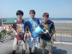 大阪南港海釣り公園 サビキまだまだ好調