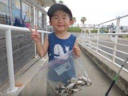 レンタル竿でファミリーフィッシング!海釣り公園