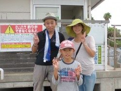 大阪南港海釣り公園 アジ、サッパ