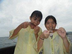和歌山北港魚つり公園 ガシラ釣ったよ!
