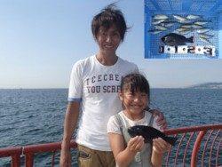 神戸市立平磯海づり公園 サビキでアジにグレ