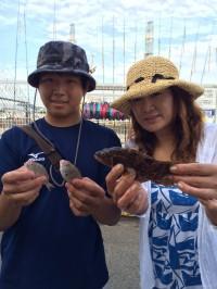 和歌山マリーナシティ海釣り公園 サビキでアコウ他