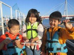 尼崎市立魚つり公園 サビキは午前中が好釣果