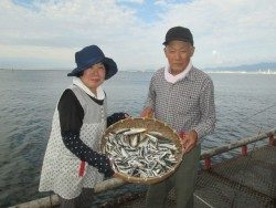 尼崎海釣り公園 サビキの釣行は午前がオススメ