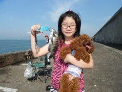 和歌山北港魚つり公園 チヌが釣れました♪