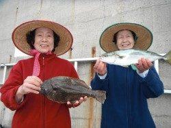 和歌山北港魚つり公園 ハマチ&ヒラメ