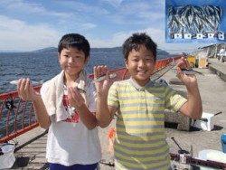 神戸市立平磯海づり公園 イワシ数釣り