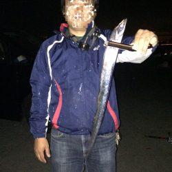 会社の釣り仲間太刀魚釣り