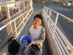 大阪南港海釣り公園 アジは午前中