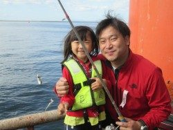 尼崎市立魚つり公園 サビキで色々釣れてます〜♪