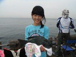 北港海釣り公園 グレ30cmの釣果