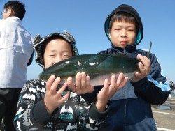 北港海釣り公園 ハマチ48cmの釣果
