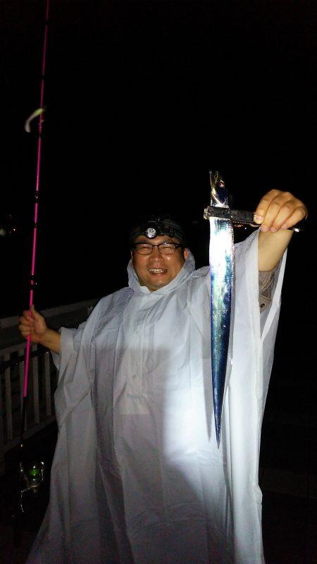 太刀魚の神様が釣る‼