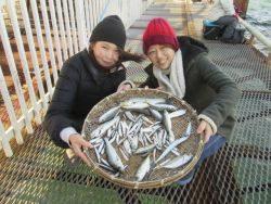 尼崎市立魚つり公園 48cmのチヌほか