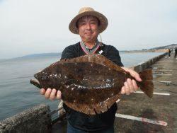 北港海釣り公園 ヒラメ&チヌの釣果