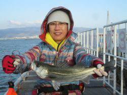 尼崎市立魚つり公園 ハネ、セイゴ、チヌ