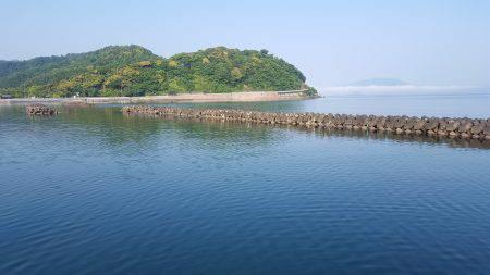 小浜新港 コウイカエギング