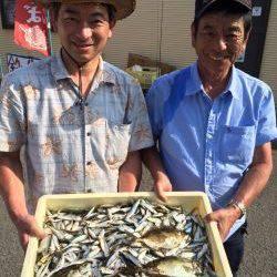 和歌山マリーナシティ海洋釣り堀 豆アジ500匹!