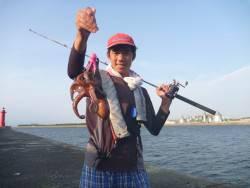 終日タコ釣行
