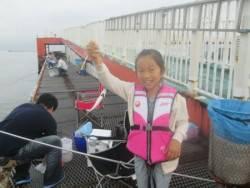 尼崎市立魚つり公園 アジ1000匹