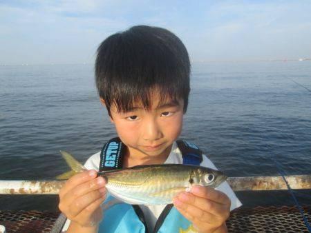尼崎市立魚つり公園 サビキ好調!