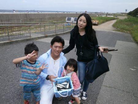 大阪南港海釣り公園 アジ、サバ、サッパほか